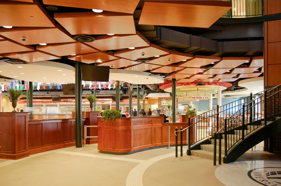 Mills conoly engineering troy university dining hall for U of t dining hall