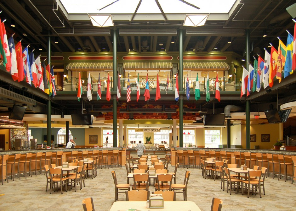 Brown university dining for U of t dining hall